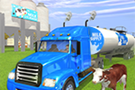 Milk-Man:Offroad Transporter Trailer Truck Drive