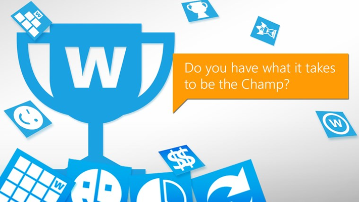 Do you have what it takes to be the Champion?