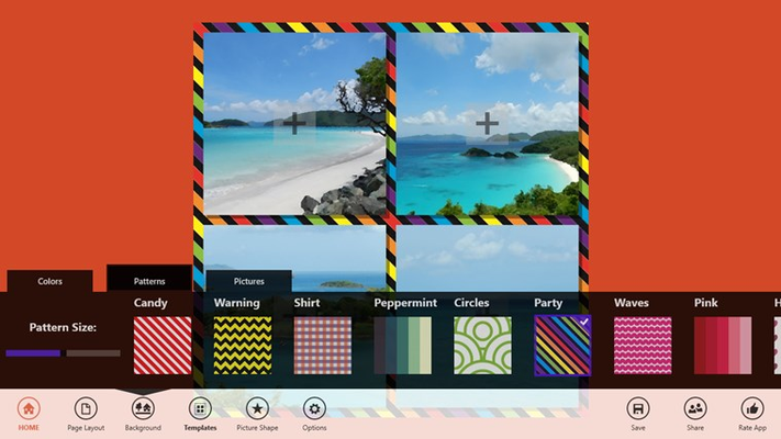 10 new background patterns.