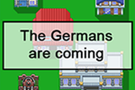 The Germans are coming
