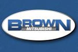 Brown Mitsubishi