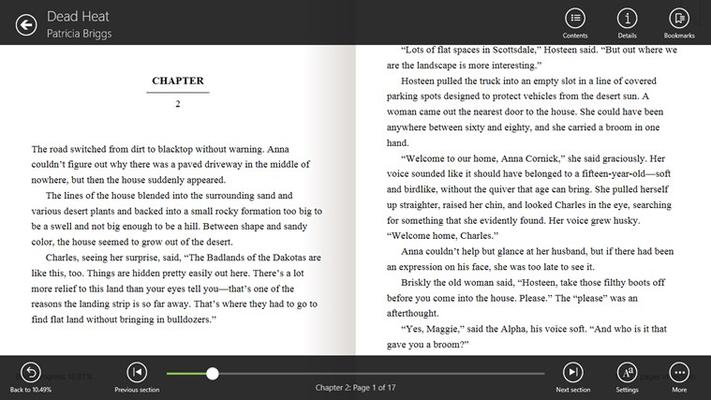OverDrive - Library eBooks & Audiobooks for Windows 8