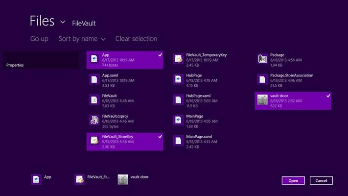 Pick Multiple Files