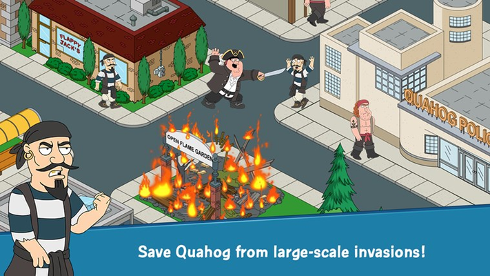Save Quahog from large-scale invasions!
