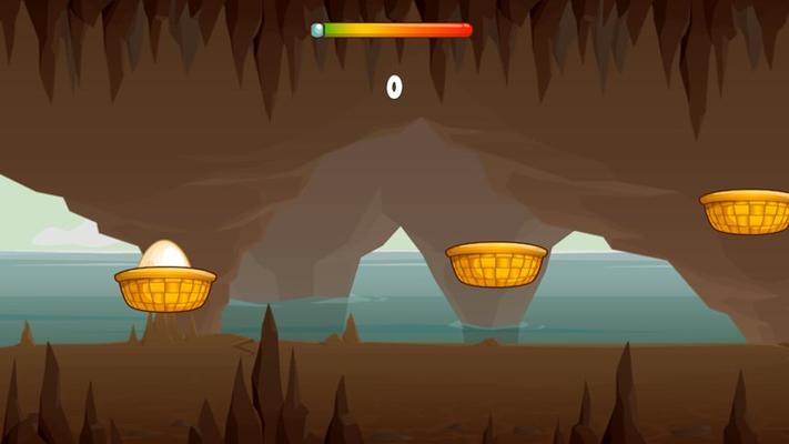 hop through the cave