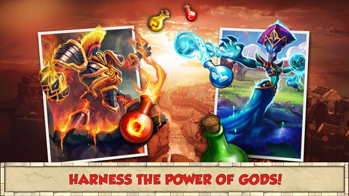 Harness the power of gods!