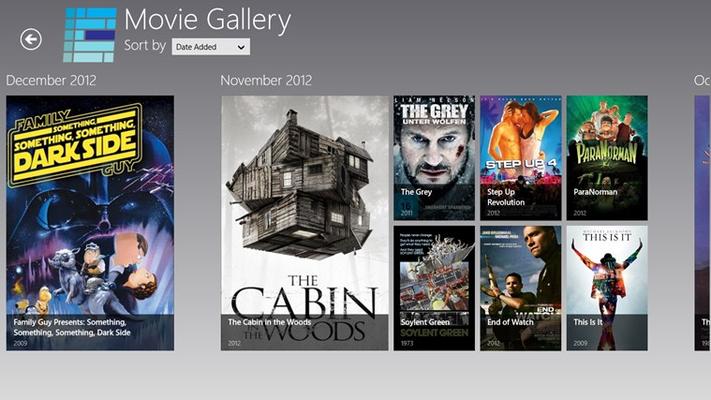 Beautiful movie gallery