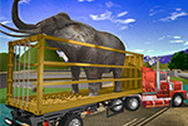 Wild Animals Transporter Truck Driving 3D