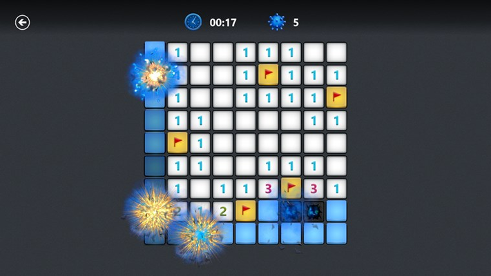 Can you complete the full board without uncovering any mines?
