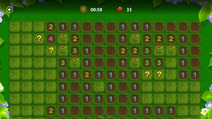 Expert players can adjust the difficulty to play on huge boards.