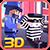 Blocky Robbers VS Cop Craft