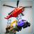 Helicopter Transporter - Heavy Excavator Crane 3D