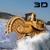 Snow Plow Rescue Dump Truck Driver 3D