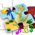 Kids Dinosaur Rex Jigsaw Puzzles - educational shape and matching children's game