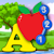 Kids ABC and Counting Join and Connect the Dot Puzzle game - learn the alphabet, counting, shapes and numbers suitable for toddler and young preschool age children 2+