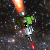 Space Shooter with Monsters and Asteroids