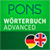 Dictionary English <-> German ADVANCED by PONS