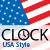 CLOCK - USA Style