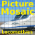 Locomotives Picture Mosaic