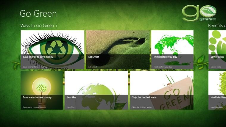 go green app