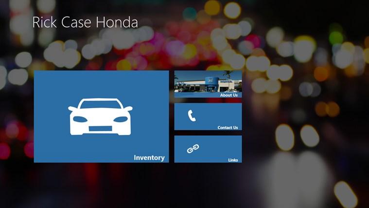Rick Case Vw >> Rick Case Honda DealerApp for Windows 8 and 8.1