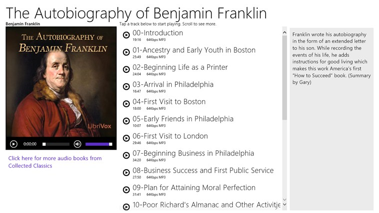 research paper on benjamin franklins autobiography