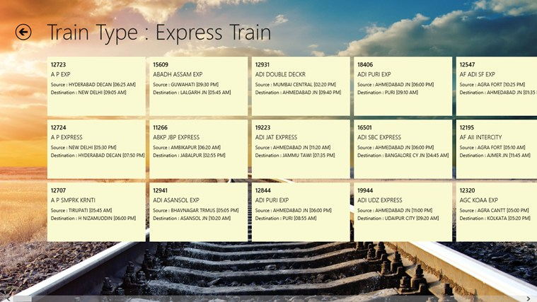 Railways Enquiry For Windows 8 And 8 1