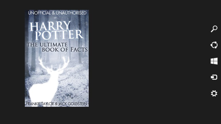 Harry Potter Book Facts : Harry potter the ultimate book of facts for windows