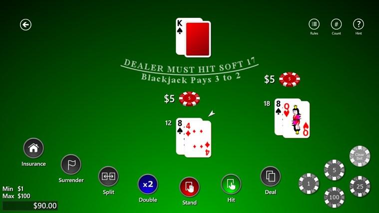Master blackjack
