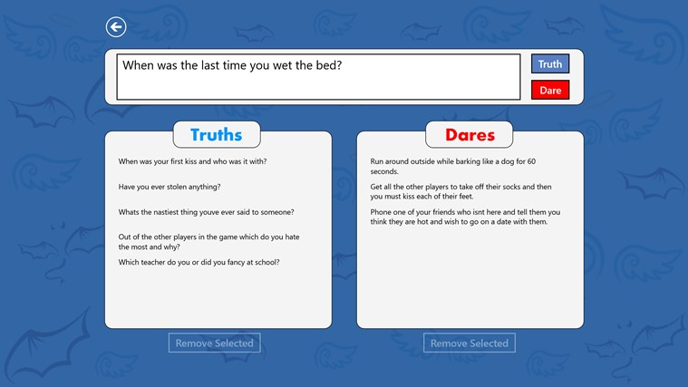 Truth or Dare? for Windows 8 and 8.1