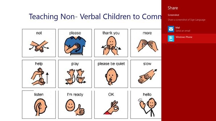 sign language speaks through babies essay