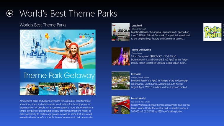 lists of tourism dissertations+nature theme parks Tourism the effects of tourism thesis length: 10 pages sources parks, nature preserves bored by hotel lined beaches and crowded theme parks.