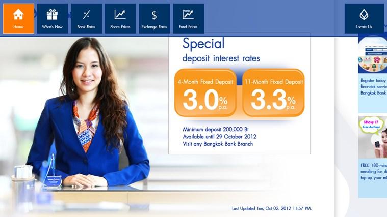 Fx exchange rate bangkok bank