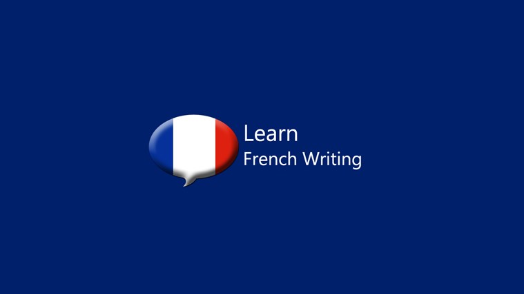 What is the best way to learn a French writing?