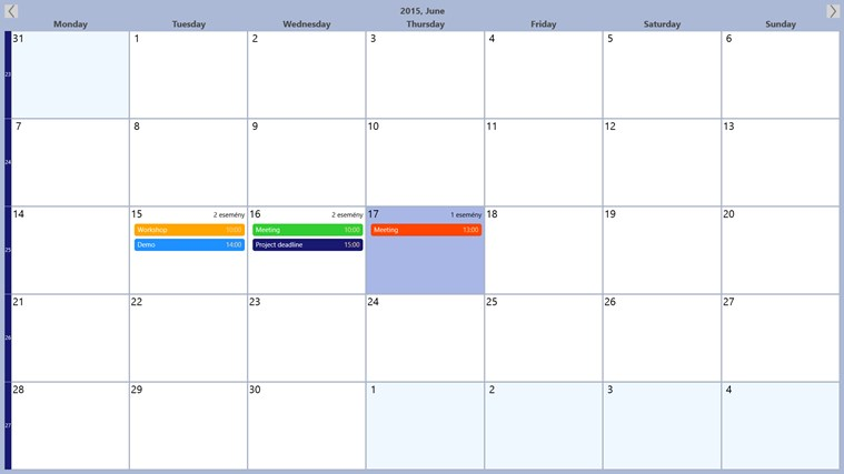Schedule planner for windows 8 and 8 1 for Tile planner app
