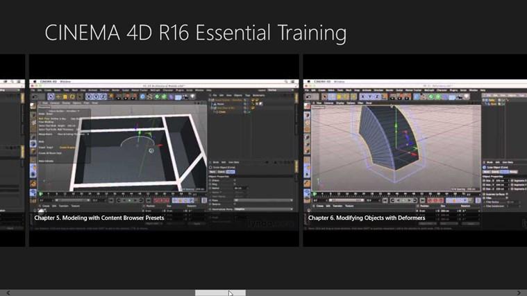 MAXON CINEMA 4D R16 Training Video CINEMA 4D R16 Training Course