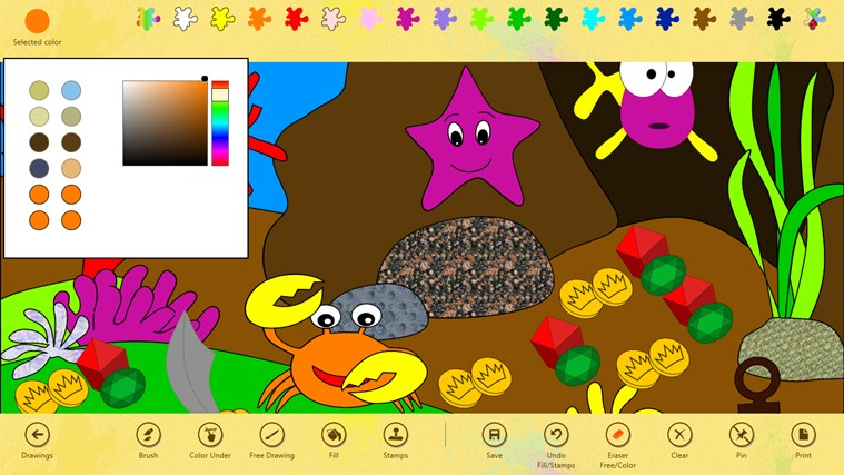 paint 4 kids for windows 8 - Paint Drawing For Kids