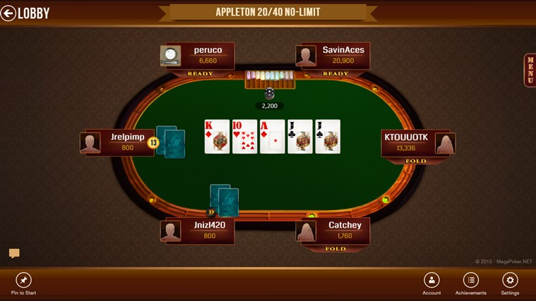Texas holdem poker app for windows 8