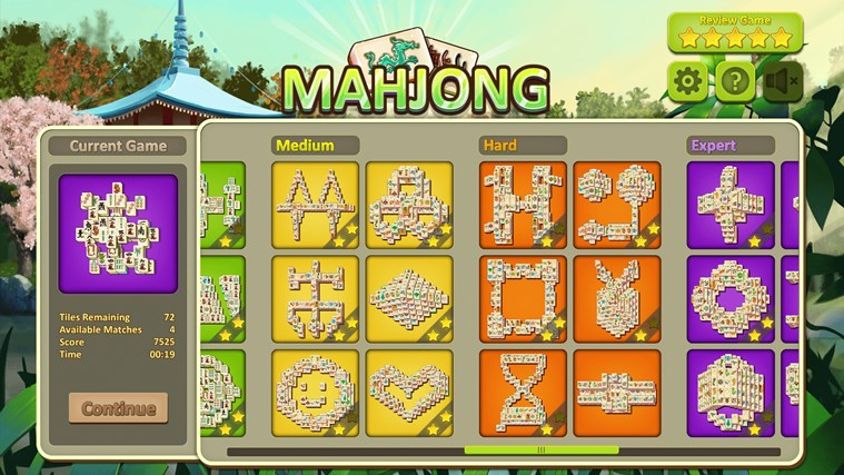 Simple Mahjong for Windows 8 and 8.1 Mahjong Everyday Funny Games