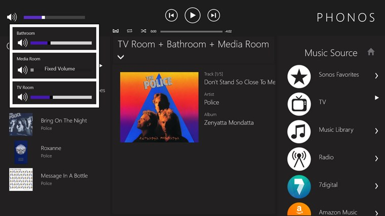 how to change spotify account on sonos