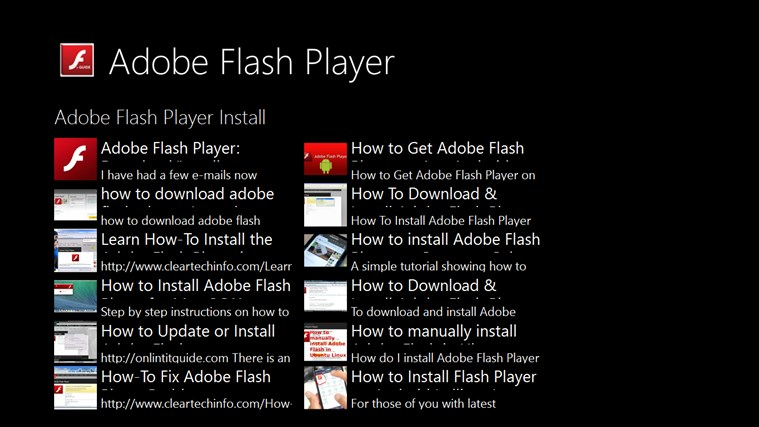flash player installieren