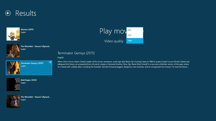 my movies movies streaming for windows 8 and 81