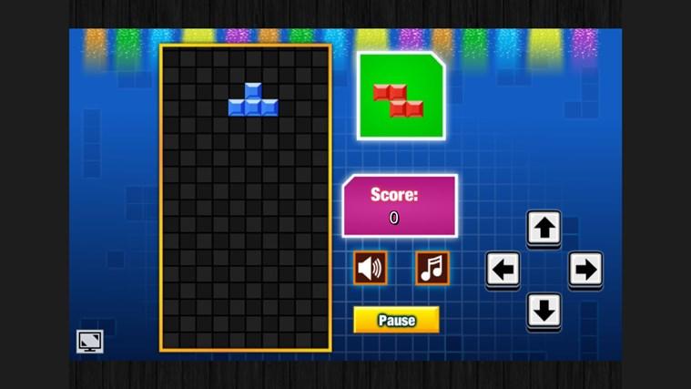 Tetris in PyQt5