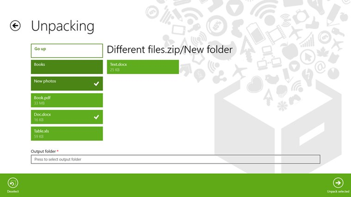 7z ZIP RAR (Ad Free) for Windows 8 and 8 1