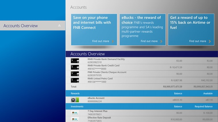Rmb Banking App For Windows 8 And 8 1