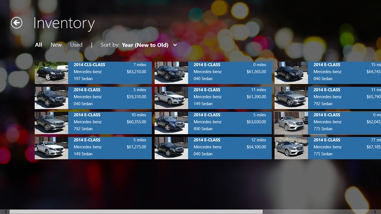Mercedes benz of white plains dealerapp for windows 8 and 8 1 for Mercedes benz of white plains