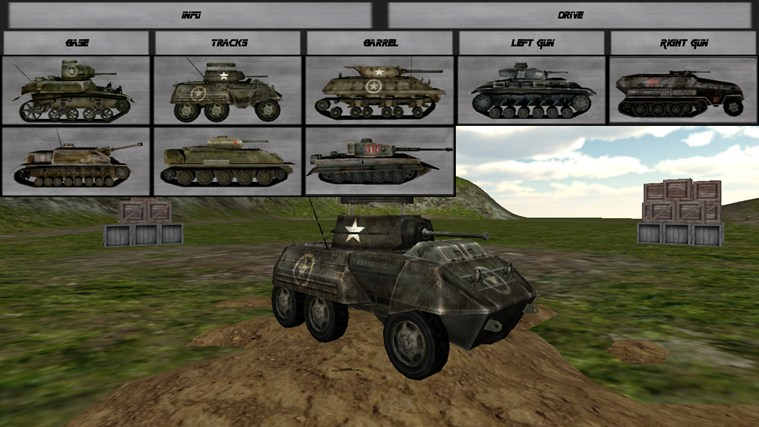 Tank Builder for Windows 8 and 8 1