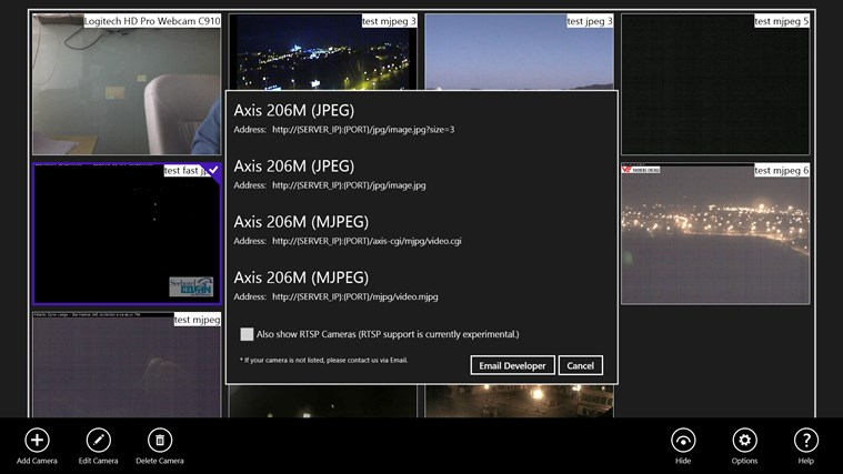 DVR Webcam - Dropbox Edition for Windows 8 and 8 1