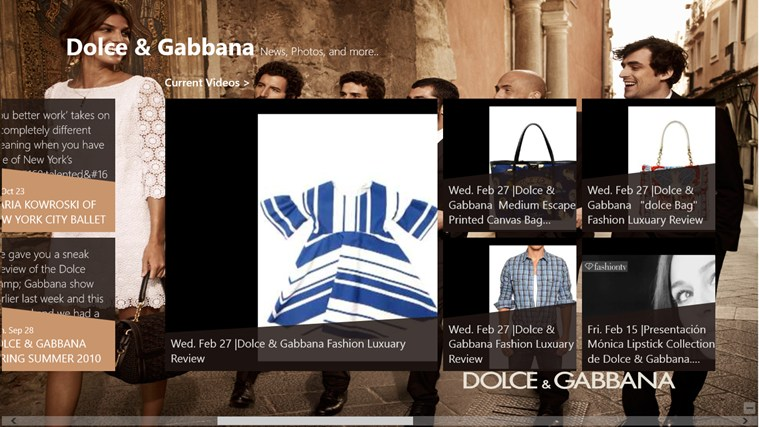 are dolce and gabbana dating apps