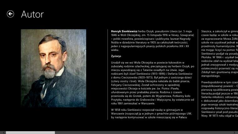 Ogniem I Mieczem Henryk Sienkiewicz For Windows 8 And 81
